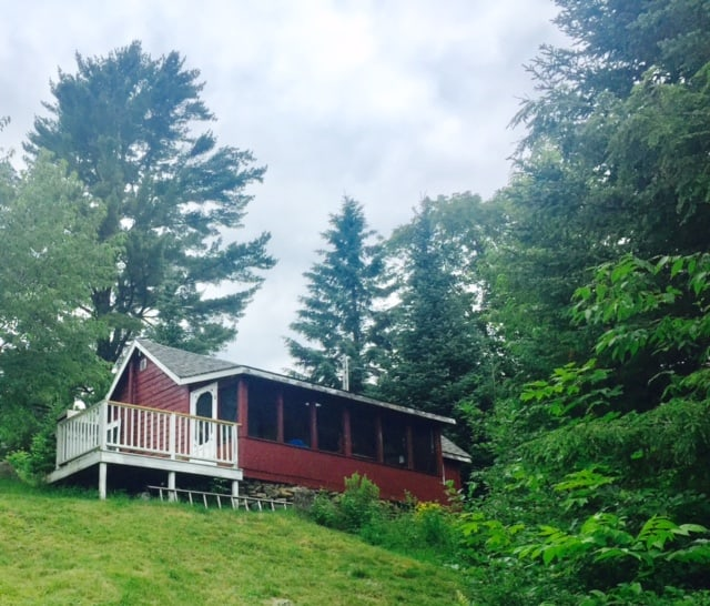 Moving beyond grief in a cabin in the woods