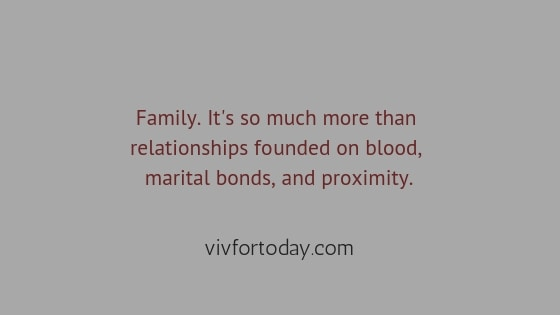 Family day quote