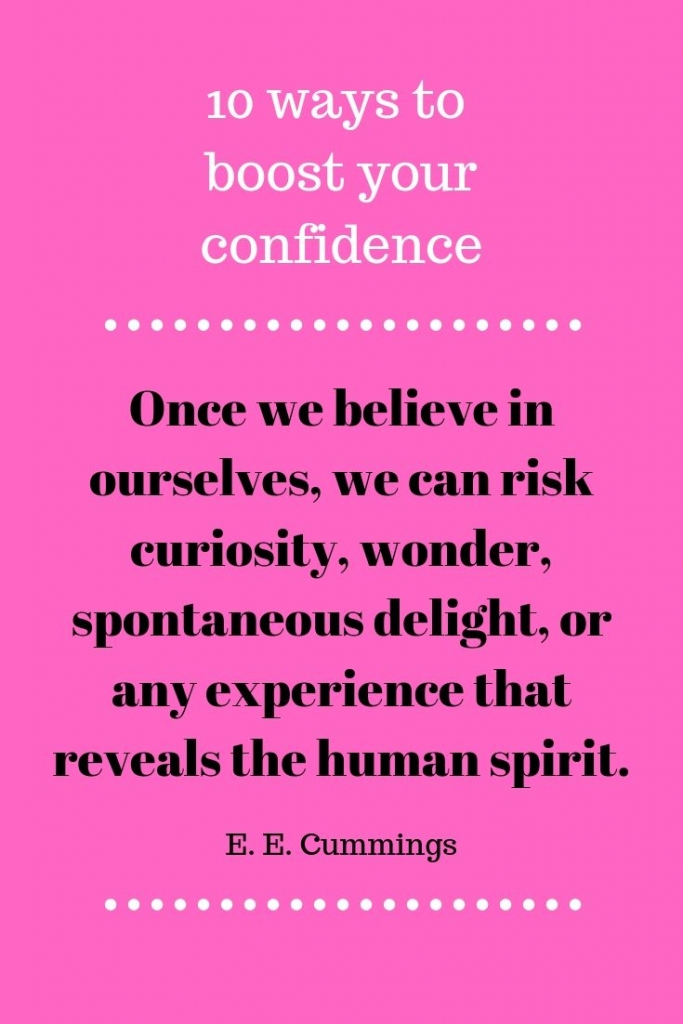 boost your confidence 3