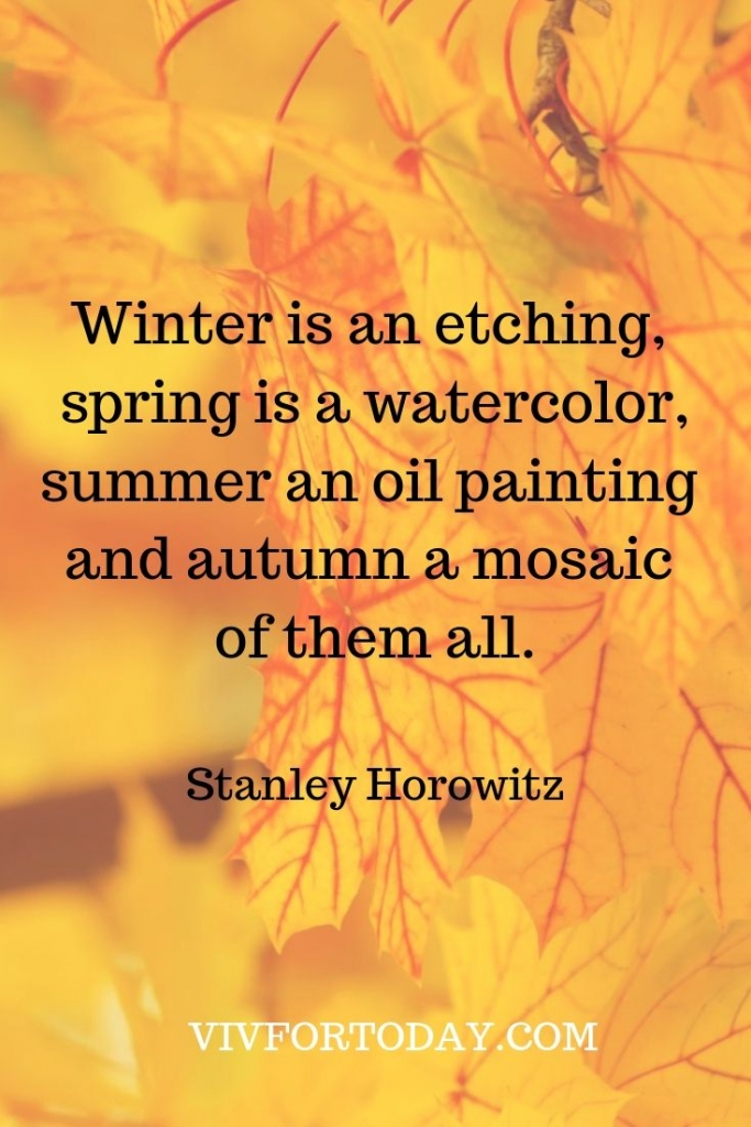 i love fall quote