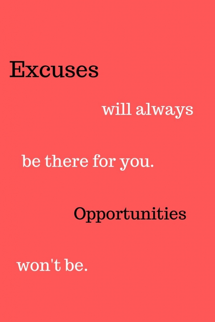 ditch the excuses 2